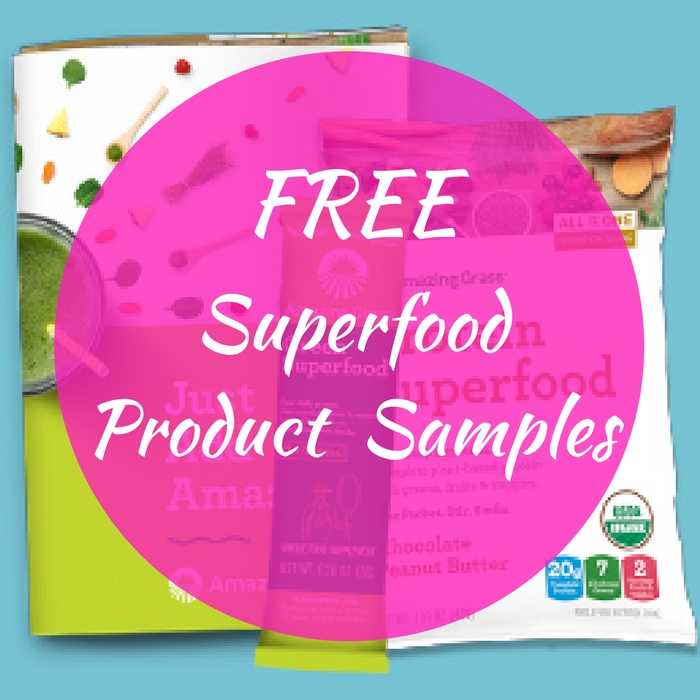 FREE 2 Superfood Product Samples!