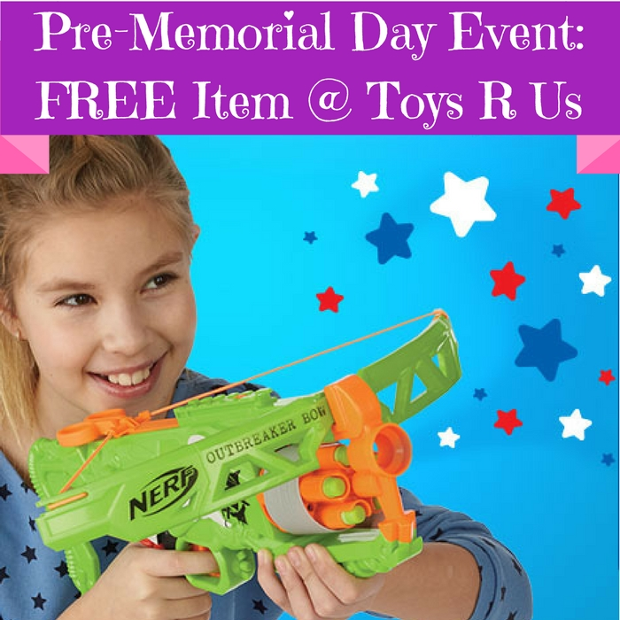 FREE Radio Flyer At ToysRUs Pre-Memorial Day Event! May 21 Only!