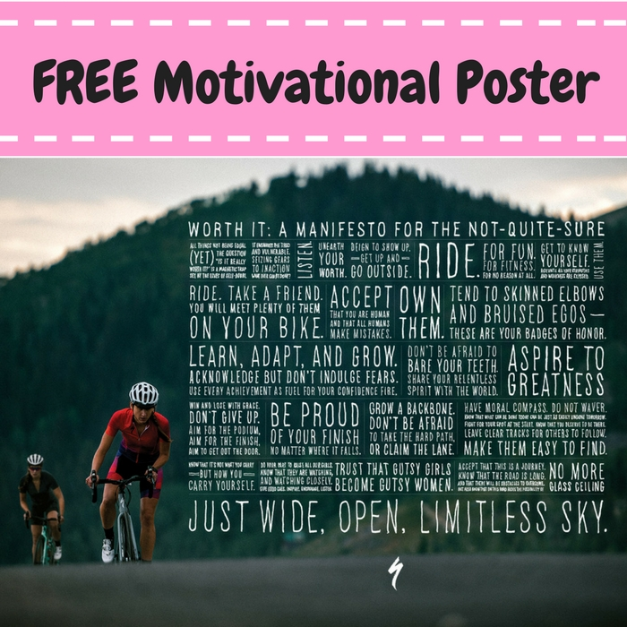 FREE Worth It Motivational Poster!
