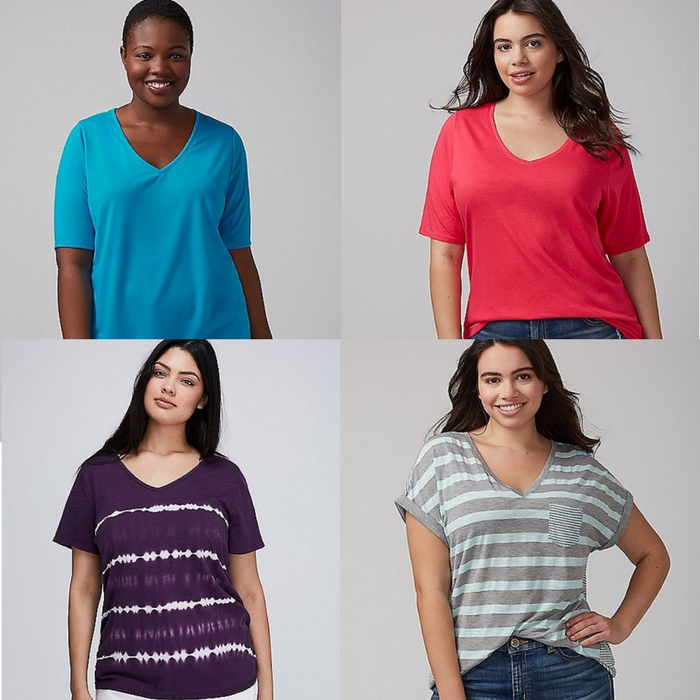 Women's Tees Buy 1 Get 1 50% Off!  PLUS $50 Off $100! Online Only!
