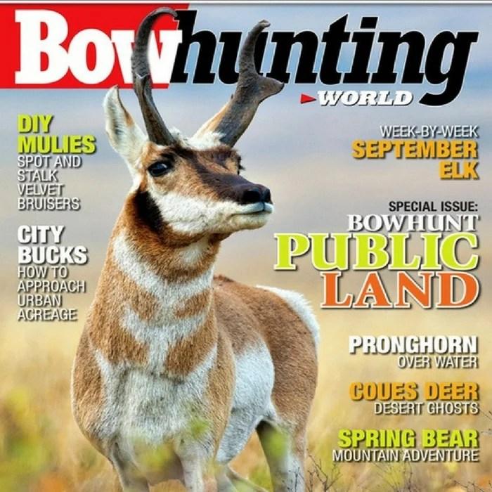 FREE 1-Year Bowhunting World Magazine Subscription!