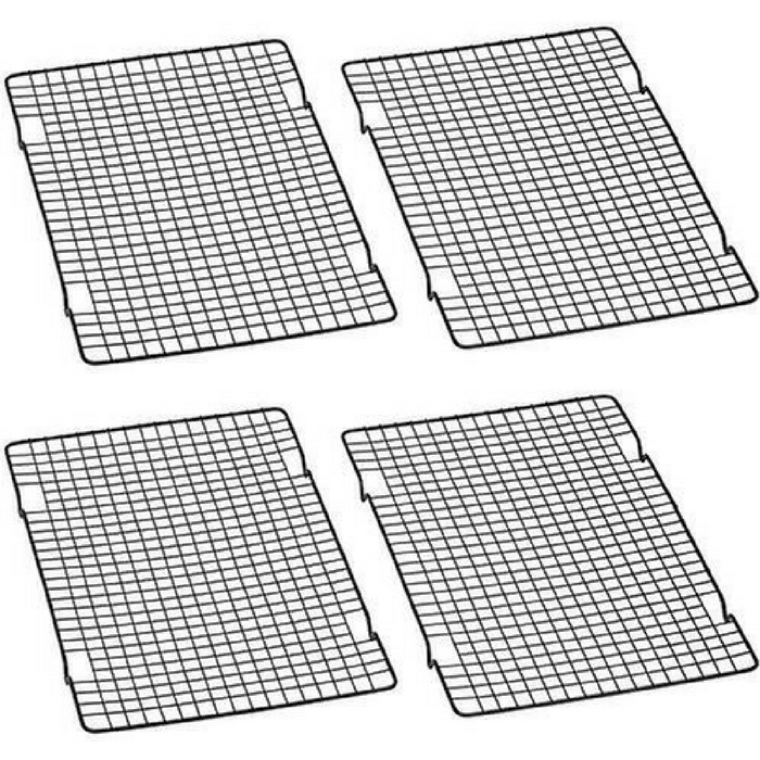 """10"""" x 16"""" Nonstick Cooling Rack Set Of 2 Just $6! Down From $28!"""