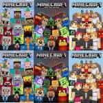 FREE Minecraft Birthday Skin Packs!