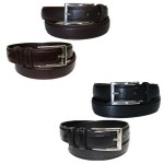2 Pack Men's Genuine Leather Belts Just $11.99! Down From $50! PLUS FREE Shipping!