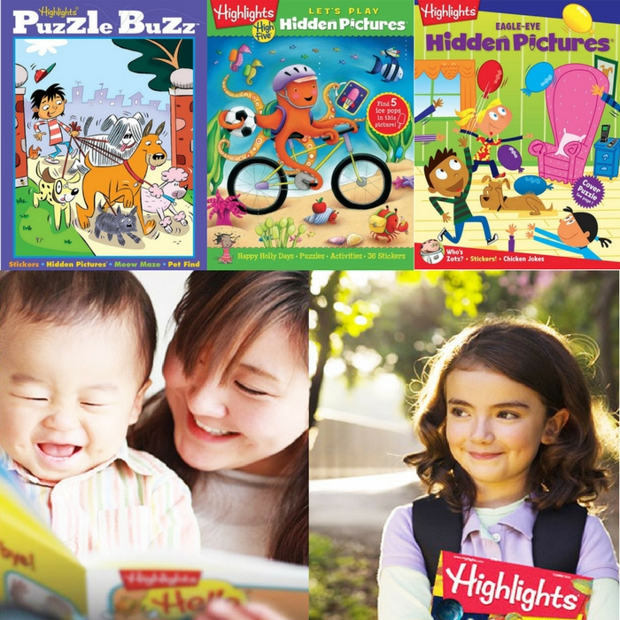 FREE Highlights Puzzle Club Books & Tote Bag!