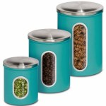 Honey-Can-Do 3-Piece Metal Storage Canisters Just $9.49! Down From $35!