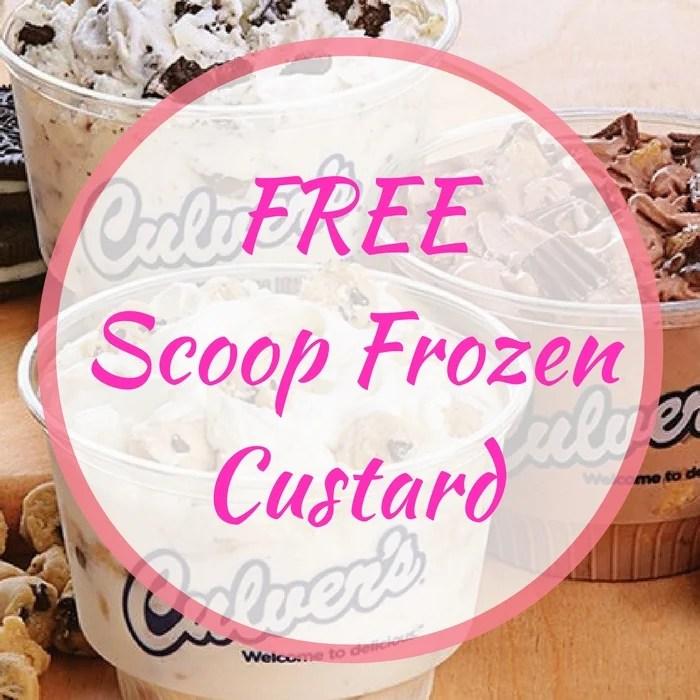 FREE Scoop Frozen Custard!