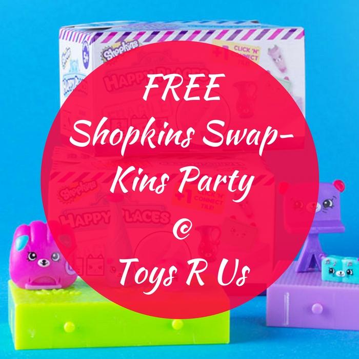 FREE Shopkins Swap-Kins Party!