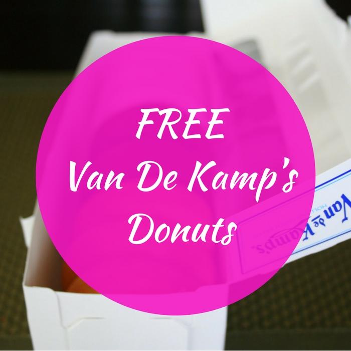 FREE Van De Kamp's Donuts!