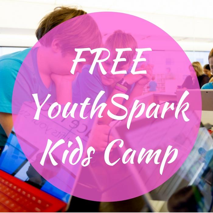 FREE YouthSpark Kids Camp!