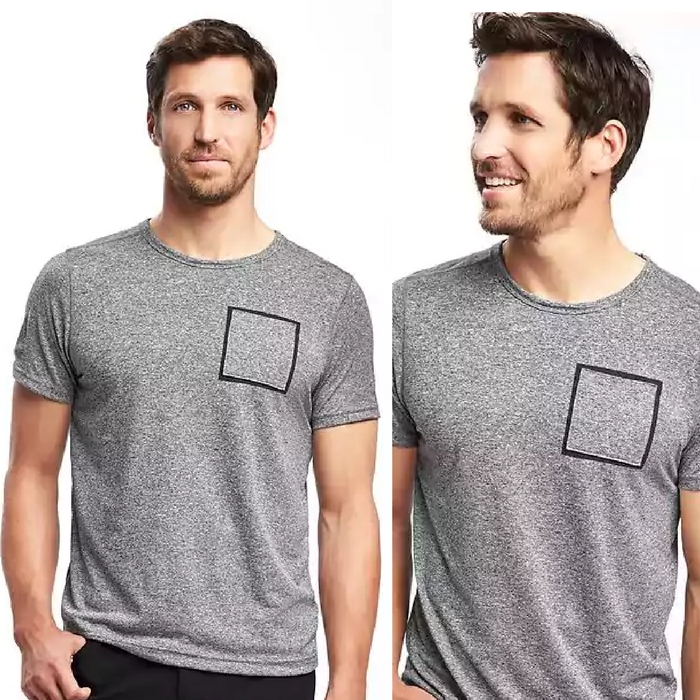 Men's Go-Dry Pocket Tee Just $10! Down From $20!