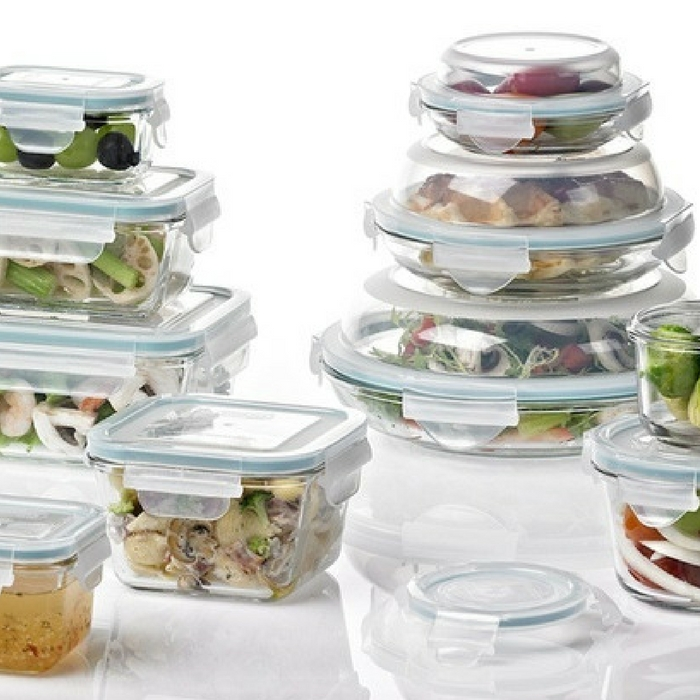 Glasslock Food Storage Container Set 14-Piece Just $25.99! Down From $60! TODAY ONLY!