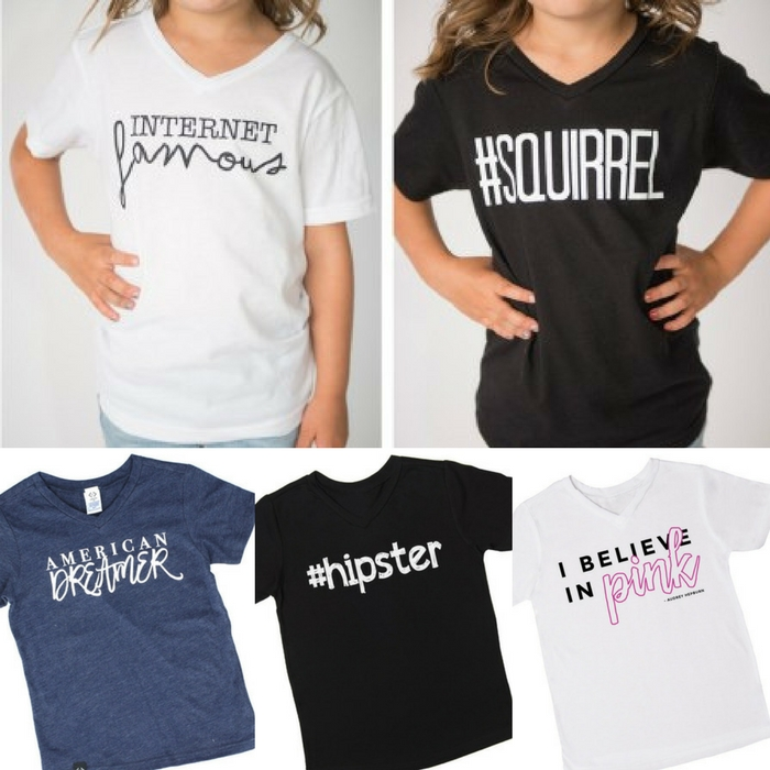 Kids' Graphic T-Shirts Just $4.98! Down From $25!