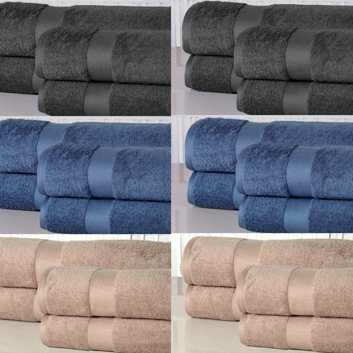 4-Piece Oversized Bathsheet Set Just $36.99! Down From $110! PLUS FREE Shipping!