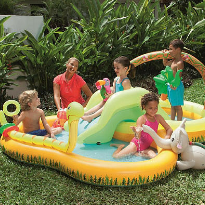 Sizzlin' Cool Jungle Play Pool Just $24.59! Down From $40!