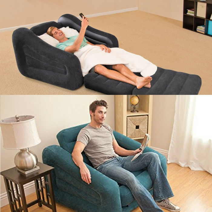 Intex Chair Inflatable Bed Just $17.25! Down From $30!