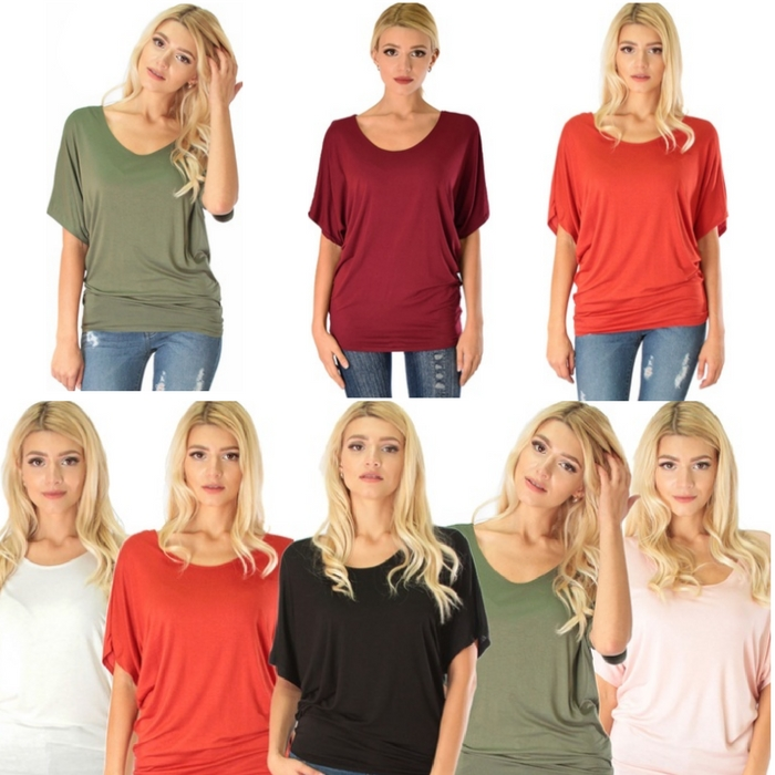Contemporary Dolman Tunic Top Just $13.99! Down From $40!