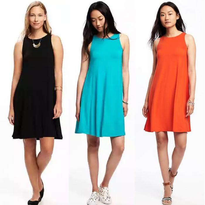 Women's Jersey Swing Dress Just $10! Down From $27!