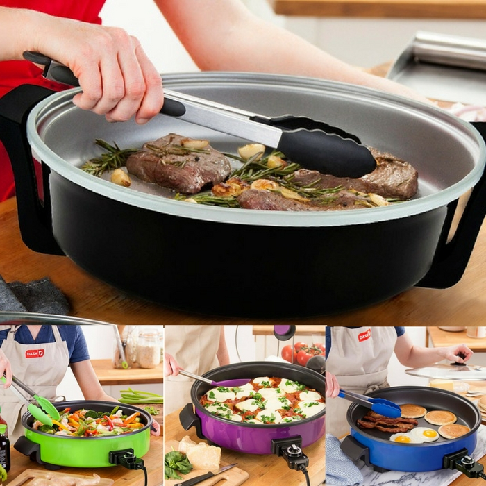 "14"" Electric Ceramic Skillet Just $24.99! Down From $44!"