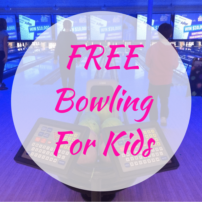 FREE Bowling For Kids!