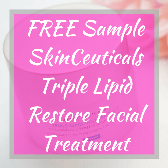 FREE Sample SkinCeuticals Triple Lipid Restore Facial Treatment!