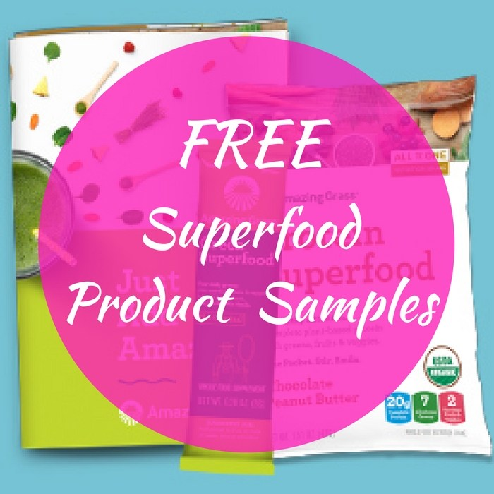FREE Amazing Grass Superfood Sample Pack!