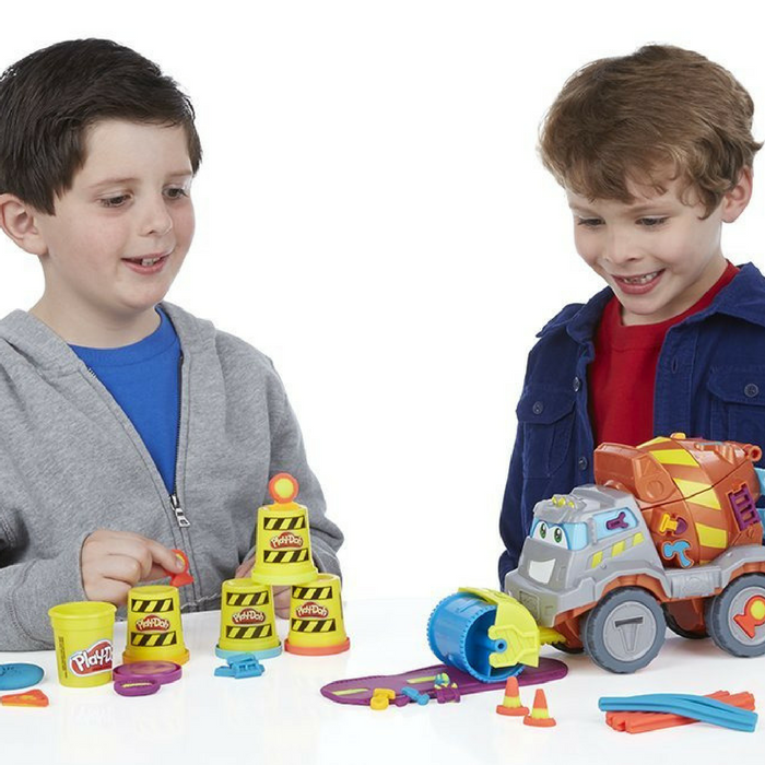 Play-Doh Cement Mixer Playset Just $16.69! Down From $52!
