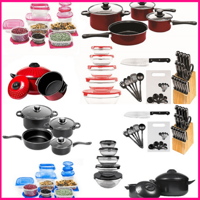 84-Piece Cookware Combo Set Just $44.99! Down From $90! PLUS FREE Shipping!