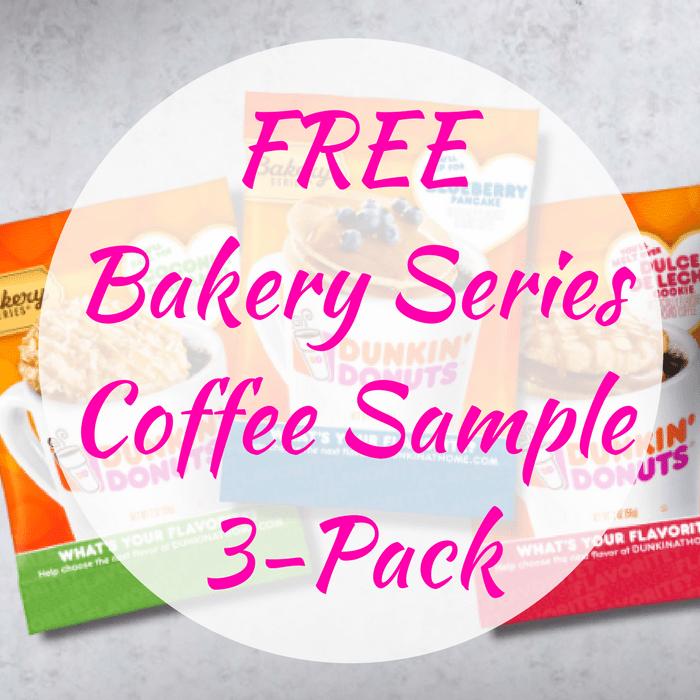FREE Bakery Series Coffee Sample 3-Pack!