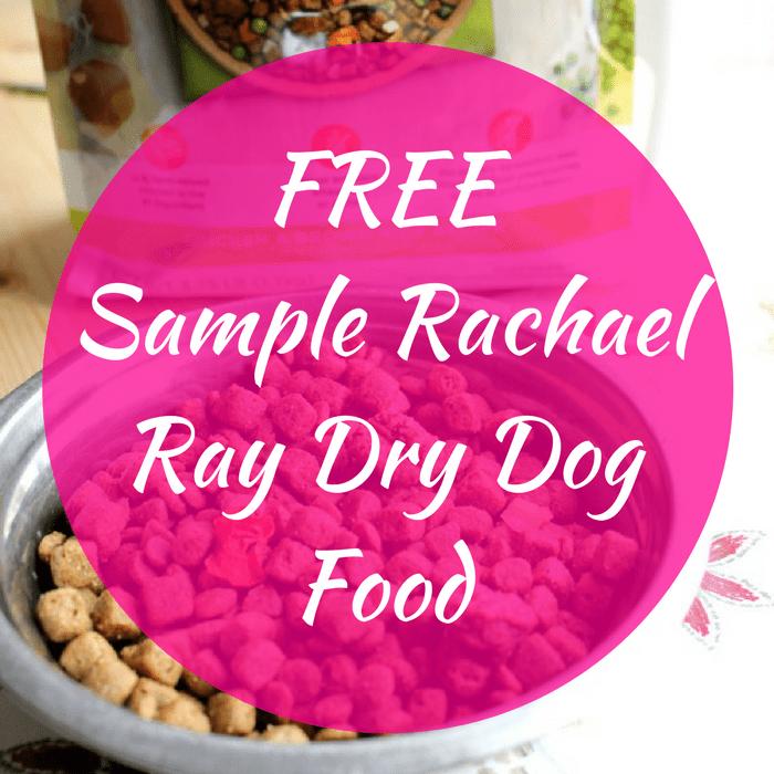 FREE Sample Rachael Ray Dry Dog Food!