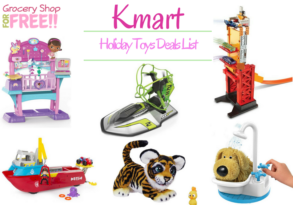 Kmart Holiday Toy Deals List Is Ready!