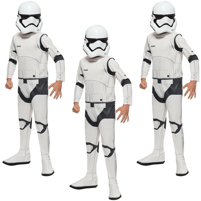 Star Wars The Force Awakens Child's Stormtrooper Costume Just $14.92! Down From $28!