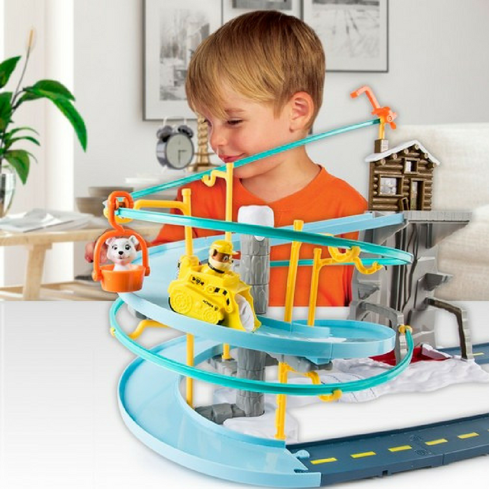 Paw Patrol Rubble's Mountain Rescue Track Set Just $28.89! Down From $40! PLUS FREE Shipping!