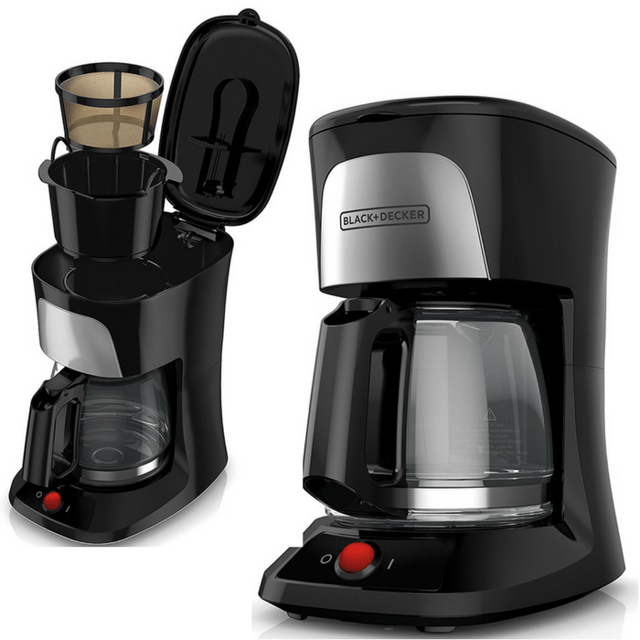 Black+Decker 5-Cup Coffeemaker Just $9.99! Down From $23!