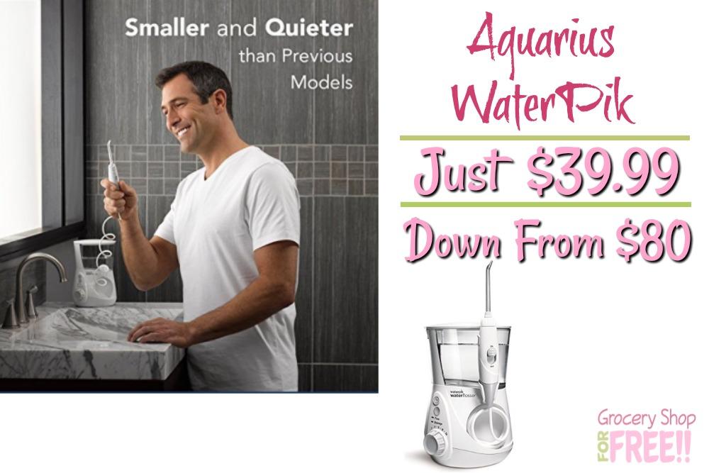 Aquarius WaterPik Just $39.99! Down From $80!