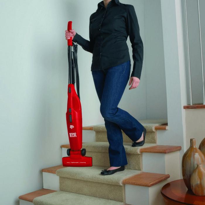 Simpli-Stik Lightweight Corded Bagless Stick Vacuum Just $18.99! Down From $40!