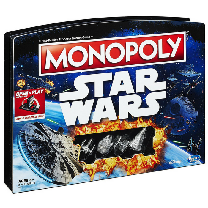 Monopoly Game: Star Wars Edition Just $11.23! Down From $25! PLUS FREE Shipping!