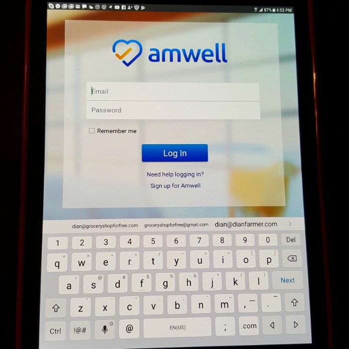 Amwell:  25% Off Your Next Urgent Care Visit With Code:  MOM2!