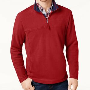 Men's Quarter-Zip Pullover Just $14.93! Down From $45!