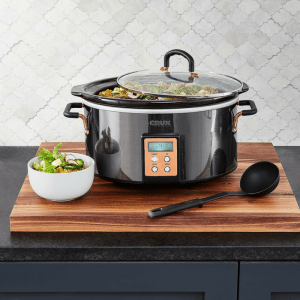Crux 6-Qt. Slow Cooker Just $29.93! Down From $75!