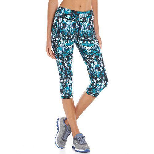 Women's Tek Gear Core Lifestyle Capri Yoga Leggings Only $8.75! Down From $30.00!