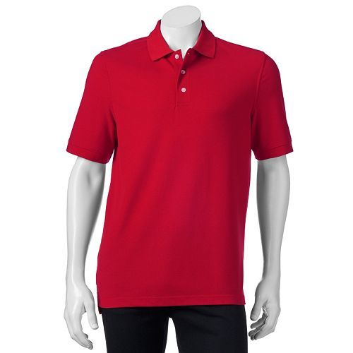 Men's Croft & Barrow Pique Classic-Fit Polo Only $8.20! Down From Up To $26.00!