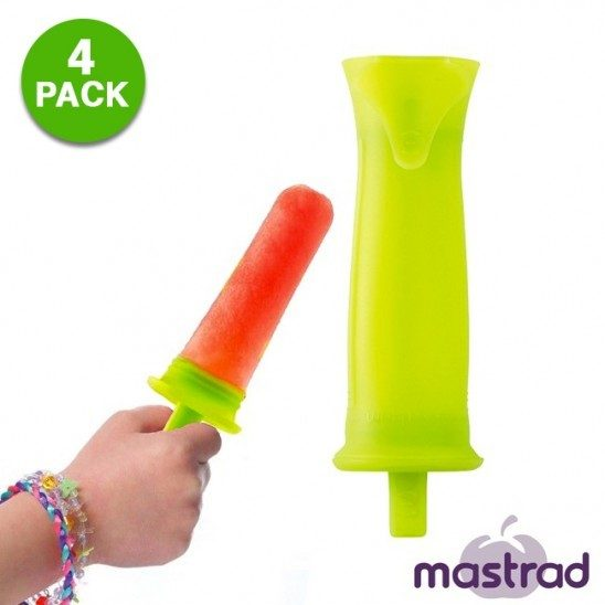 4-Piece Mastrad Silicone Ice-Pop Mold Set Only $7.99! Down From $24.99! Ships FREE!