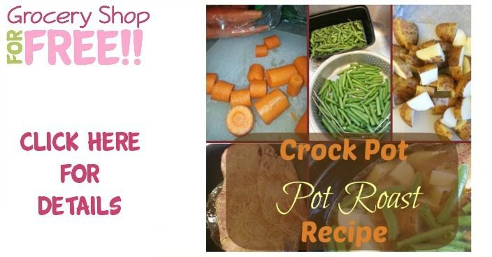 Crock Pot Pot Roast Recipe!  PLUS Sugar Free Banana Ice Cream Recipe!