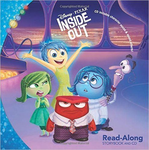 Inside Out Read-Along Storybook and CD Only $4.50 (Reg. $6.99)!