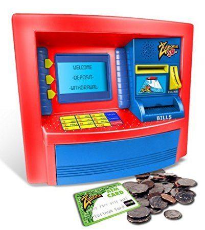 Zillionz Jr. Deluxe ATM Savings Bank Only $12.51 (Reg. $53.99)!