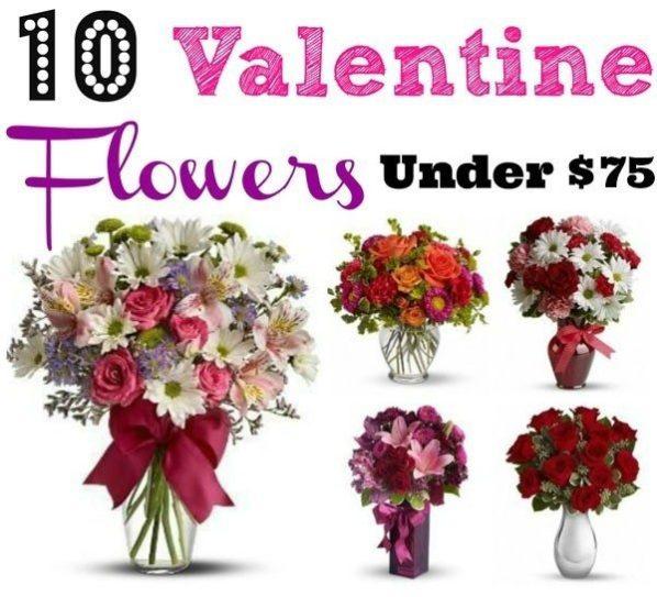 10 Valentine Flowers Under $75