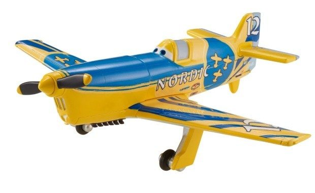 Disney Planes Gunnar Viking No. 12 Diecast Aircraft Only $2.60 (Reg. $7.99)!