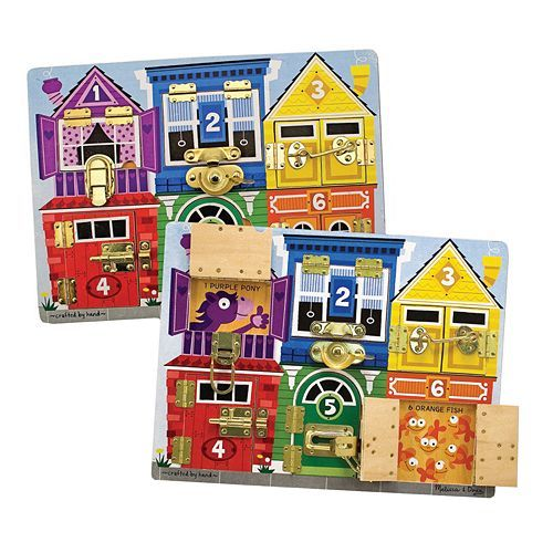 Melissa & Doug Latches Board Puzzle Only $13.08! Down From Up To $24.99!