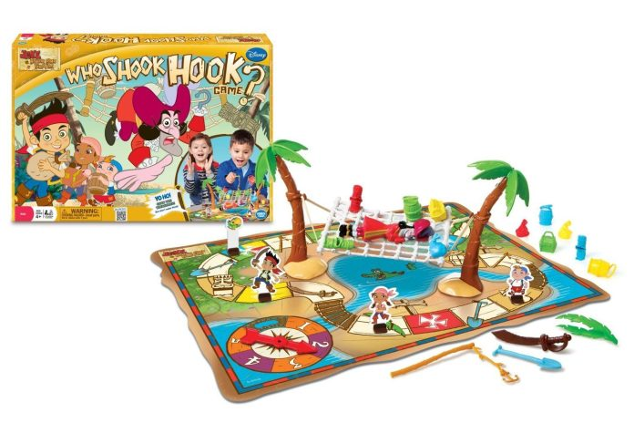 Disney Jake and the Never Land Pirates Who Shook Hook? Game Just $15.90! Down From $40.14!